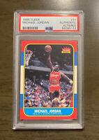 Nice 1986 Michael Jordan Fleer #57 Rookie, Graded PSA AA, Rare!