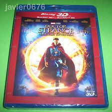 DOCTOR EXTRAÑO DR. STRANGE BLU-RAY 3D + BLU-RAY NUEVO Y PRECINTADO MARVEL