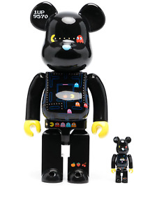 Medicom Toy BE@RBRICK Pac Man 2-PACK 100% 400% set