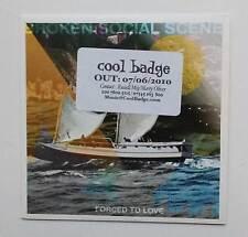 BROKEN SOCIAL SCENE  - DJ Radio promo CD - Forced To Leave - inndi / alt.rock