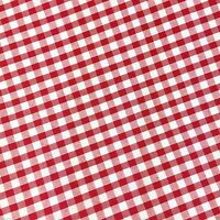 "Red Gingham 1/8"" Check Bunting/Craft/Dress Fabric FREE P+P"