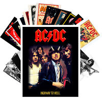 AC/DC Postcards (24 cards) Vintage Music Photo Poster Magazine Cover 1248