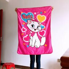Marie Cat pink coral fuzzy Blankets collect quilt rug blankets small throw hot