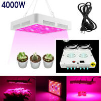 4000W LED Grow Light Hydroponic Full Spectrum Indoor Flower Plant Lamp PanelHang