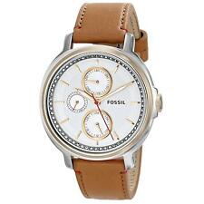 Fossil Damenuhr Armbanduhr CHELSEY ES3523 braun silber