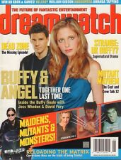 Dreamwatch August 2003 Buffy & Angel, Carrie-Anne Moss 040617nonDBE