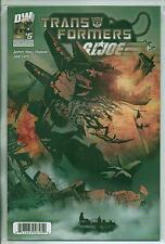 Dreamwave Productions Transformers G.I. Joe #5 December 2003 VF+