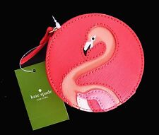 Kate Spade Flamingo Coin Purse Take a Walk on the Wild Side Orange, WLRU25, NWT