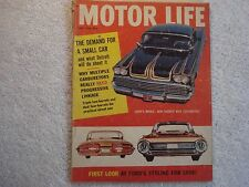 Motor Life/Hop Up 1958 May Custom Impala's Buick  Chrysler 300-D & Hillman test