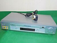 SONY SLV-SE730 Video Cassette Recorder VHS Smart VCR Silver Quality FAULTY