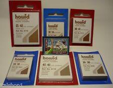 HAWID TASCHINE PER FRANCOBOLLI 29x36mm FONDO NERO 50 PZ