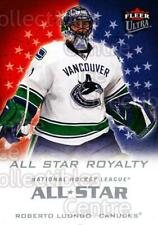 2008-09 Ultra All-Star Royalty #2 Roberto Luongo