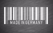 Aufkleber Barcode Made in Germany  Sticker Shocker OEM Tuning JDM Oldschool 040
