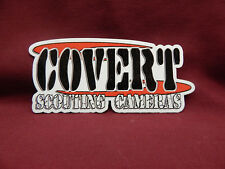COVERT SCOUTING CAMERS FIREARMS TACTICAL GEAR HUNTING RIFLE GUN STICKER DECAL