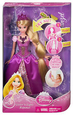 DISNEY GLITTER N LIGHTS RAPUNZEL DOLL BDJ24  *NEW*
