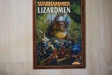 Warhammer-OOP-Warhammer Lizardmen Army Book (english)