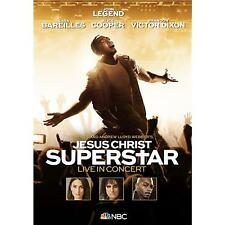JESUS CHRIST SUPERSTAR LIVE IN CONCERT NBC TV Event DVD ALL REGIONS NTSC NEW