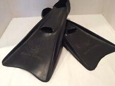 New listing Voit Skin Diver Fins Scuba Gear Flippers Adult Size Medium/Large Rubber Black