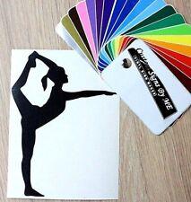 Ginnastica danza balletto Sticker Vinyl Decal Adesivo Murale Finestra LIBRO Laptop #2