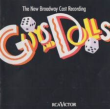 GUYS & DOLLS - THE NEW BROADWAY CAST RECORDING - NATHAN LANE - SOUNDTRACK CD