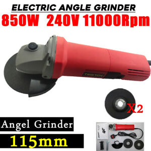 4.5'' Angle Grinder 115mm Small Electric Sander Professional, 850W, 11000RPM Cut