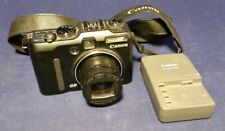CANON Power Shot G9 Camera 12.1MP DSLR 6x 7.4-44.4mm f/2.8-4.8