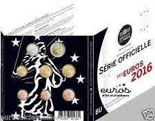 Set BU France/Série officielle et complète des euros 2016 - 25 000 exemplaires