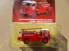 N° 39  BERLIET GLB 19R  4x4  Camion Pompier citerne SDIS NANCY - 1/43 Neuf Boite