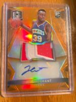 Rpa/25 Orange Prizm Rc Auto Patch 14-15 Panini Spectra Jerami Grant Future AS?