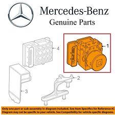 For Mercedes W204 C300 C350 GLK350 ABS Antilock Brake Hydraulic Pump Unit OES