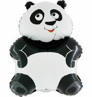 Panda Bär Luftballons xl Folienballon Geburtstag Helium Party