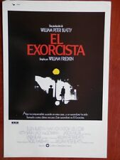GUÍA CINE GRAN TAMAÑO: EL EXORCISTA LINDA BLAIR WILLIAM FRIEDKIN