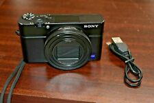 Sony DSC-RX100M6 RX100 VI Digital Camera 24-200mm Zeiss Zoom Lens - Black