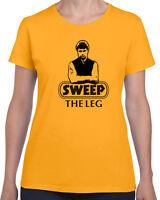 206 Sweep the Leg women's t-shirt karate 80s movie kid cobra kai costume funny