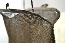 Vintage Baby- Fine Metal Mesh Purse by Whiting and Davis, mint condition
