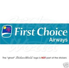 FIRST CHOICE AIRWAYS Airlines 180mm Vinyl Sticker Decal