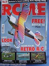 RCM&E JUNE 2012 BEECH 18 PLANS DEBUTANTE MARK REDSELL CHRISTEN EAGLE II 90 REV