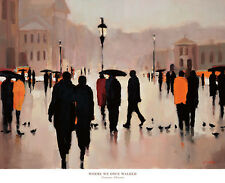 32x26 ART PRINT - Where We Once Walked by Lorraine Christie - Scenic Poster