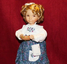 "14"" Dianna Effner's Doll Goldilocks,Mother Goose By Knowles,Coa,"