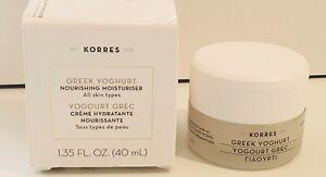 Korres Greek Yogurt Facial Moisturiser Brand New with Box. Full size (AUS STOCK)
