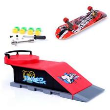 Finger whip skateboard ramp & play set Mini Fingerboards Kit D#