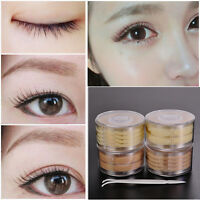 600Pcs Natural Lace Mesh Tape Double Eyelid Sticker Adhesive Eye Lift Strips New