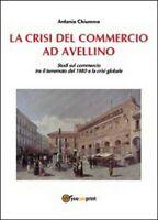 La crisi del commercio ad Avellino  di Antonio Chiummo,  2014,  Youcanprint