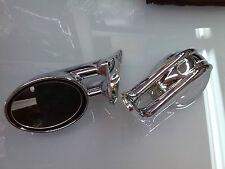 Specchi Specchietti retrovisori esterni cromati tuning sportivi BMW 3 E46 2p