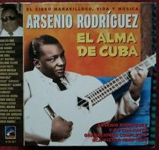 ARSENIO RODRIGUEZ Y Y SU CONJUNTO GRABACIONES COMPLETAS RCA VICTOR 1940- 1956 CD