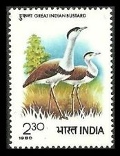 India Birds Stamps 1947-Now