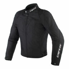 Blousons noirs Dainese pour motocyclette Taille 56