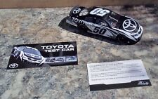 TOYOTA TEST CAR 1/24 NASCAR DIE-CAST 2007 CAMRY LIMITED EDITION RARE DETAILED