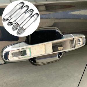 Fits Subaru Forester 2019 2020 2021 Chrome Car Door Side Handles Cover Trim