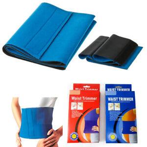 Waist Trimmer Exercise Wrap Belt Slimming Burn Fat Sweat Weight Loss Body Shaper